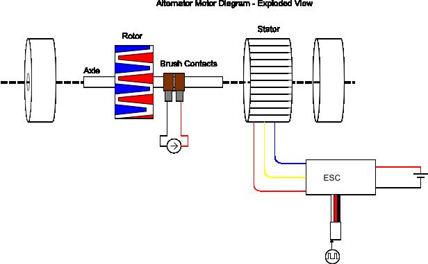 Diagram Of A 12 Volt Voltage Regulator Rectifier